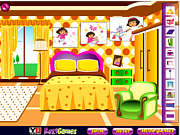 Play Dora fan room decoration Game