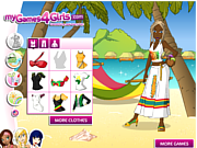 Juega al juego gratis Jamaica Dress Up