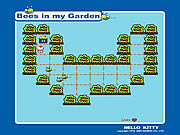 Play Hello kitty bees in my garden Game