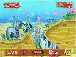 Spongebob Bathtime Burnout 2 game