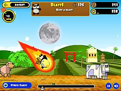Rocket Panda - Flying Cookie Quest game