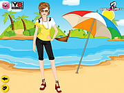Summer Time Dress Up game