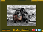Play Military helicopter jigsaw Game