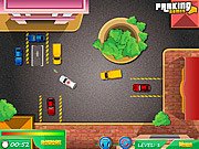 Play Cop car parking Game