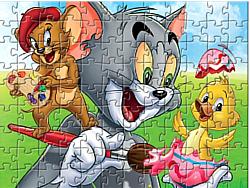 เล่นเกมฟรี Tom and Jerry - Puzzle