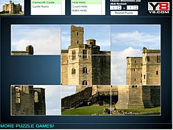 Slide Puzzle: Castles game