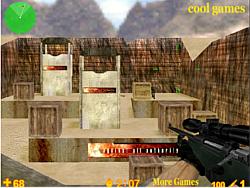 jeu Anti-Terrorist Sniper King