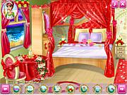 Play Barbie wedding room Game