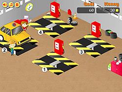 Spielen Sie das Gratis-Spiel  Frenzy Garage Car
