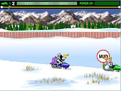 Snowmobile Rally game
