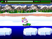 Play Snowmobile rally Game