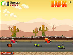 Driving Warrior game