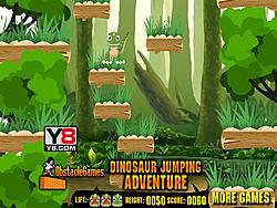 Dinosaur Jumping Adventure game