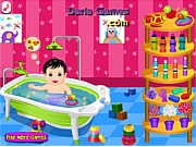 Play Baby care and bath Game