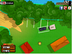 Camping Forest Parking game