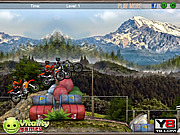 Play Motocross mountain madness Game