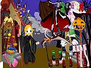 Play Halloween dress Game