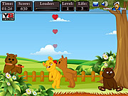 Play Teddy love kiss Game