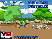 Play Motorbike obstacles Game