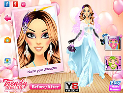 Adorable Ballerina Bride Makeover game
