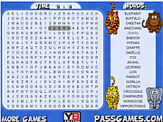 Play Safari animals word search Game