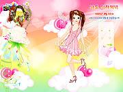 Butterfly girl dress up