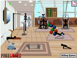 Stickman Death Gym game