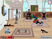 Play Stickman death gym Game