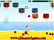 Play Phineas and ferb beach sport Game