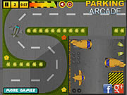 Play Airport service parking Game