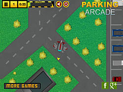 Juega al juego gratis Airplane Hangar Parking