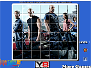 Play Fast and furious 6 spin puzzle Game
