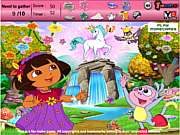 Play Dora adventure hidden objects Game