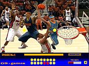 Basketball Hidden Balls game
