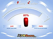Play Love tester Game