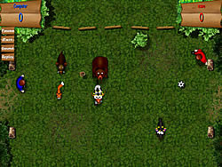 Soccer On The Nature game