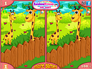 Zoo Animals Differences game