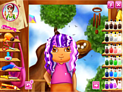 Play Dora real haircuts Game