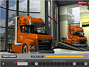 Play Truck hidden wheels Game