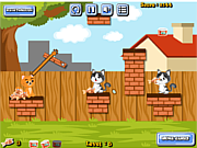Play Cat food throw Game