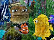 Play Nemo fish jigsaw Game