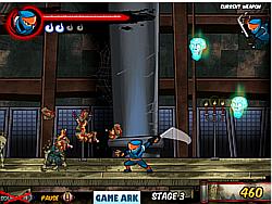 Ninja vs Zombies v2 game