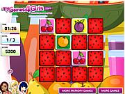 Play Fruit memo game Game