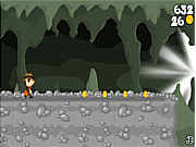 Play Cave running volcano Game