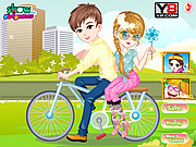 Play Bicycle trip with love Game