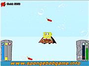 Play Spongebob jump underwater Game