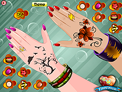 Princess Nail Decor game