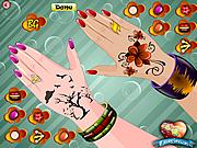 Play Princess nail decor Game