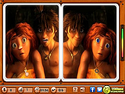 The Croods - Spot the Difference game