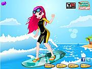 Play Surfing weekend dressup Game